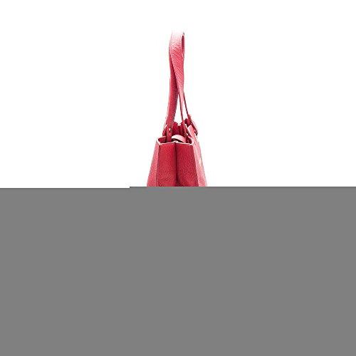 Zerimar Borse a mano da donna | 100% pelle alta qualità | Borsa della Signora | Borsa a mano | Borsa Grande | Borsa Piccola | Scomparti multipli Rosso