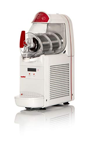 Máquina para granizados sorbetes cremas frías UGOLINI NG6/1 ELETTRONIC - Contenedor de 6 litros - Dispensador Made in Italy