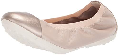 Geox Mädchen JR PIUMA BALLERINE A Geschlossene Ballerinas, Beige (Beige C5000), 33 EU