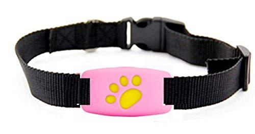 Mini Perseguidor De Mascotas GPS, Dispositivo De Seguimiento Anti-perdida Inteligente Localizador De Buscadores De Gatos, A Prueba De Agua / Alarma / Seguimiento En Tiempo Real Adecuado para perros medianos y grandes