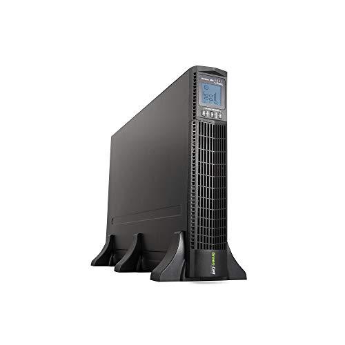 Green Cell UPS USV Unterbrechungsfreie Stromversorgung 3000VA (2700W) 230V 2000VA-3000VA Pure Sine Wave Online 6X IEC320 C13-10A