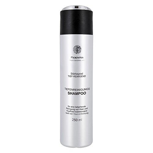 Tiefenreinigungsshampoo speziell bei Anwendung von Haarverdichtung, Ansatzspray und Extensions - 250 ml