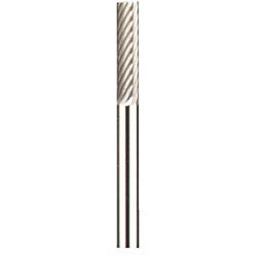 Dremel 9901 Wolfram Karbid Fräsmesser, Zubehör für Multifunktionswerkzeug, Fräser 3,2 mm zum Schnitzen, Gravieren und Fräsen in Stahl, Eisen, Holz und Kunststoff