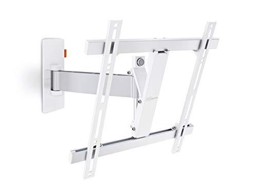 -Wandhalterung für 81-140 cm (32-55 Zoll) Fernseher, 120° schwenkbar und neigbar, max. 20 kg, Vesa max. 400 x 400, weiß ()
