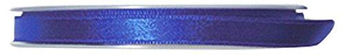 P & B Hohe Qualität Double Face Satinband, Polyester, Blau Klein, 9mm x 25m -