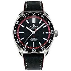 Reloj Alpina Alpiner 4 Automatic, Negro/Rojo, 44mm, Día, AL-525BR5AQ6