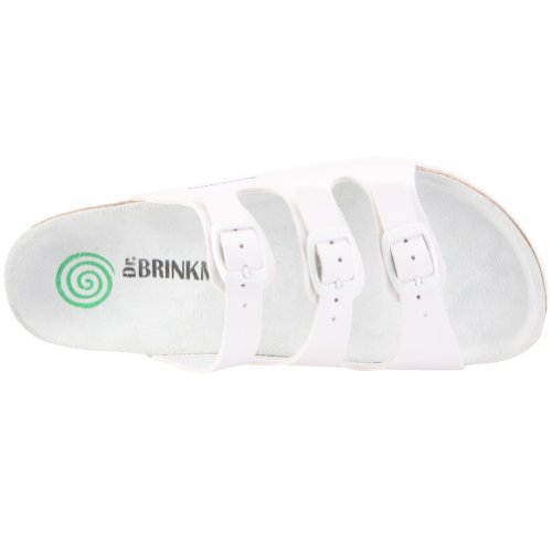 Dr. Brinkmann 703171, Sandali donna Bianco (Weiss/weiß)