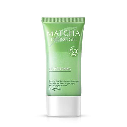 Gychee Matcha Peeling-Gel Feuchtigkeitsspendendes Peeling-Gesichtspeeling-Gel Entfernen Sie abgestorbene Haut