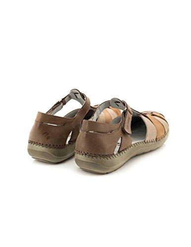 Sandalo Vita pelle Unica Marr n 21.606-21 Marrone