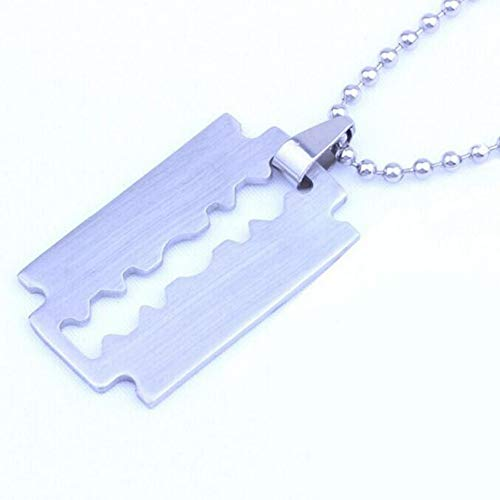 Collares Mujer WJsbxx Collar De Acero Titanium De