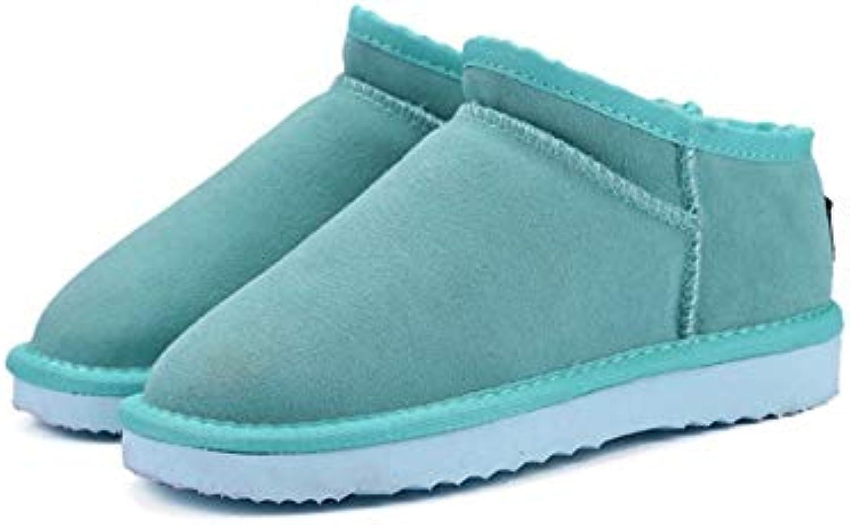 FMWLST stivali Scarponi da Neve da Donna Inverno Scarpe Basse in PU Calda Stivaletti Impermeabili di Alta qualità... | Nuovi prodotti nel 2019  | Maschio/Ragazze Scarpa