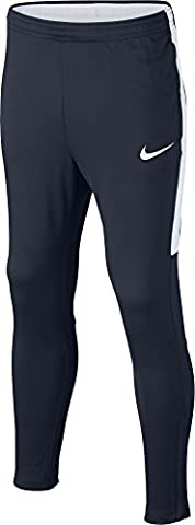 Nike Dry Academy Pantalon Mixte Enfant, Obsidian/Obsidian/Blanc/Blanc, FR : S (Taille Fabricant : S)