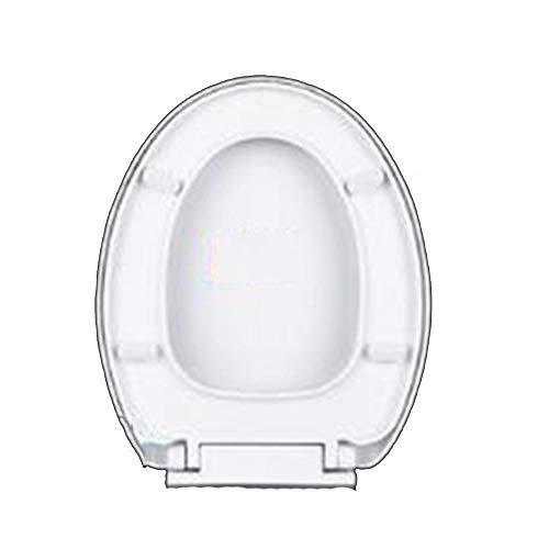 WY-Toilet cover Typ O, WC-Sitz mit Deckel Soft-Close-Scharniere Edelstahl weiß - Soft-close Seat-cover