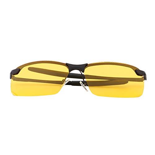 Peanutaoc Klassische HD-Nachtsichtbrille mit Antireflex, polarisiert, UV400, zum Fahren und Angeln