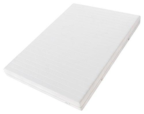Hilding Sweden HA396 Latexmatratze, Schaumstoff, Weiß, 200 x 100 cm