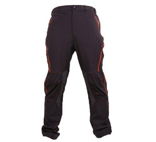 KORAMAN Herren Fahrrad Langarm Radhose/ beiläufige Hosen/ sehr leicht atmungsaktiv/für Sommer und Frühling (Farbe 2, L)
