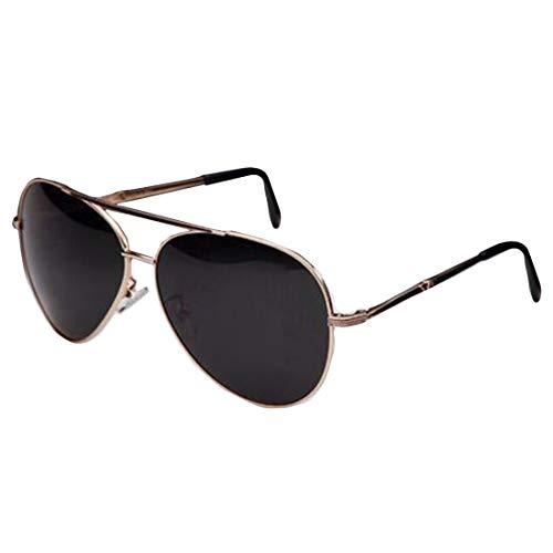 Aiweijia Fashion Aviator Classic Driving Lesesonnenbrille Männer Scharnier Eyewear Metallrahmen Sonnenbrille
