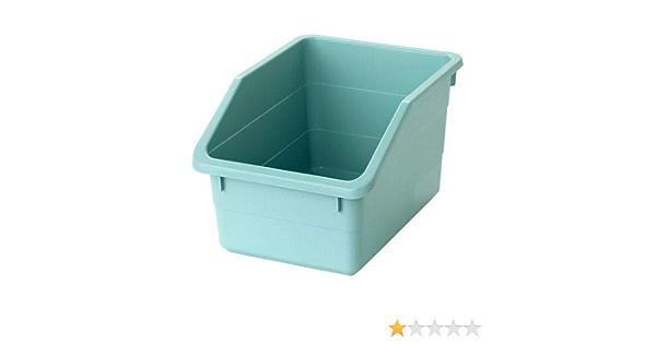 IKEA SOCKERBIT Storage Box, 19 x 26 x 15 cm [Light Blue]