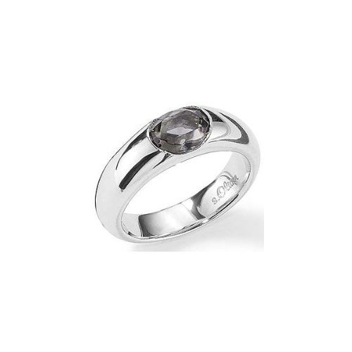 s.Oliver Damen-Ring 925 Sterlingsilber Gr. 58 191890