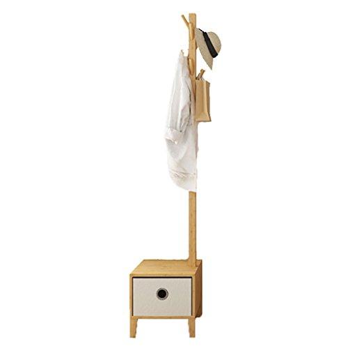 YONG FEI Chambre Solide Bois Manteau Rack Chevet Landing Hanger Racks Creative Salon Hall Hang Vêtements Rack Meubles