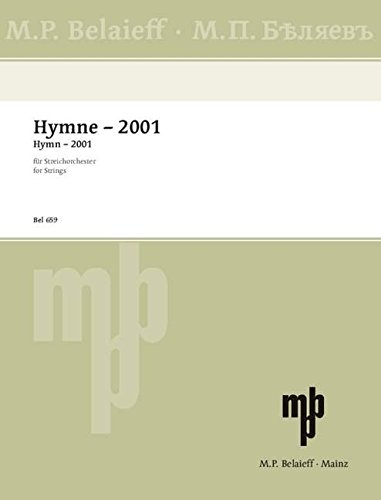 Hymne - 2001: Streichorchester. Partitur. (The Routledge History of Economic Thought)