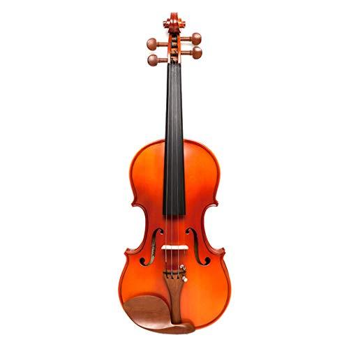 Violini Strumenti a Corda Abete Rosso Acero Fiddles Europeo a Corda Strumento giuggiola Parti Professionale Accessori Completi (Color : 4/4)