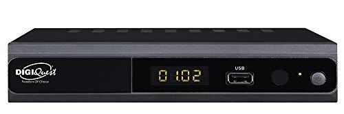 Decoder digitale Terrestre nero Full HD - Registra con doppio tuner