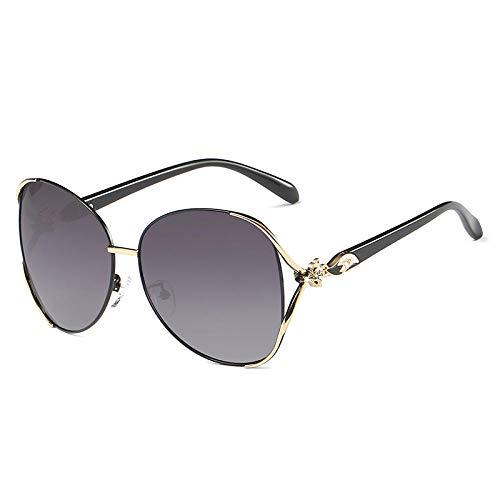 H&Y 2018 Neue polarisierte Sonnenbrille rundes Gesicht Sonnenbrille weiblichen flutstern mit der gleichen Brille Big Box quadratisches Gesicht net rot langes Gesicht