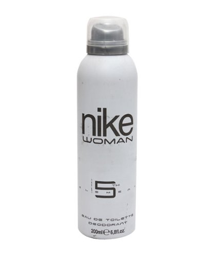 Nike N5Th Element Woman EDT Deo Spray for Women, White, 200ml  available at amazon for Rs.224
