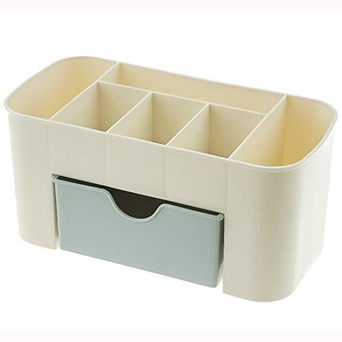 Ysuing Kosmetischen Finishing Aufbewahrungsbox Desktop-Gitter Dressing Feld Kosmetische Aufbewahrungsbox 22 * 10 * 10,5 cm -