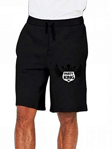 JiJingHeWang Schild Partyking Mens Casual Short Trouser -