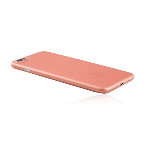 hardwrk ultra-slim Case für iPhone 7 Plus - jet black - ultradünne Hülle für Apple iPhone in diamantschwarz roségold