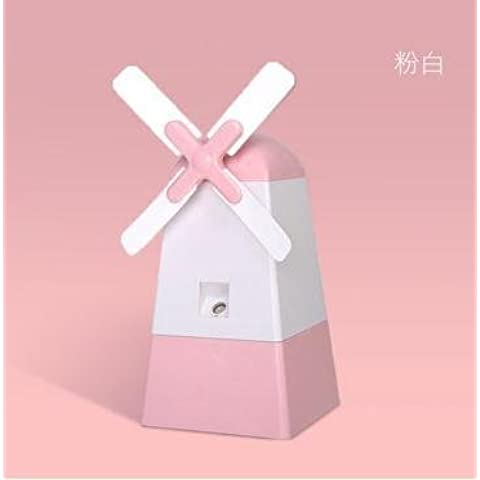 FEI&S The windmill humidifier spray mini charging the humidifier , white ,120*110*121mm fan