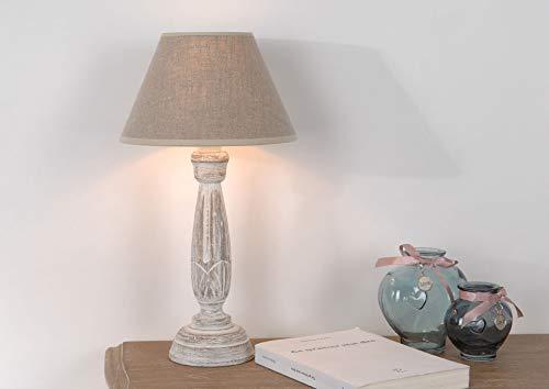 LAMPE COROLLA ABJ LIN BEIGE