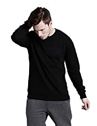 Leotude Sweatshirts for Men Black