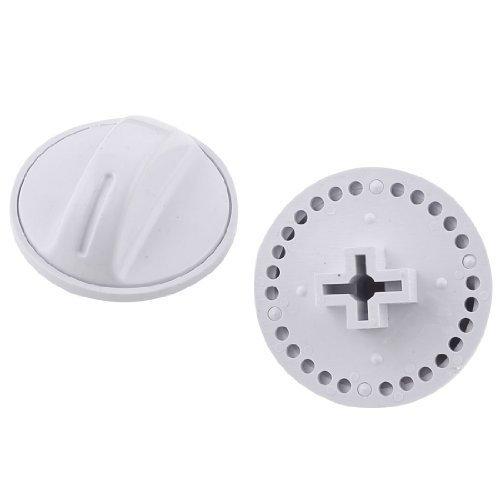 lot-de-2-boutons-de-controle-rotary-turning-minuteur-blanc-pour-machine-a-laver