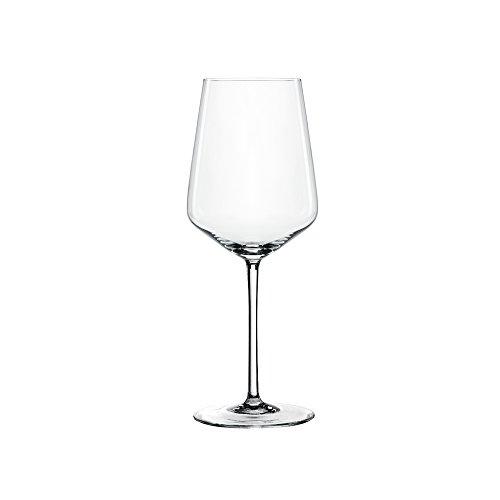 Spiegelau & Nachtmann 4-teiliges Weißweinglas-Set, Kristallglas, 440 ml, Style, 4670182