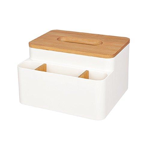 Waineg Home Küche aus Holz Tissue Box aus Massivem Holz Serviettenhalter aus Holz Einfache Tailor aus Bambus Tissue Box aus Holz multifunktionaler Aufbewahrungsbox Living - Vögel Serviettenhalter