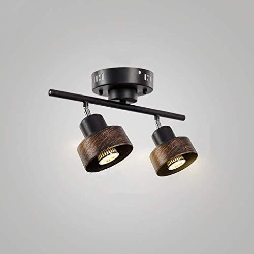 Cllcr lampadario per uso domestico, lampada da soffitto crystal palace, lampada da parete in ferro battuto lampada da soffitto industriale retrò luci personalità lampada da soffitto creativa ristoran