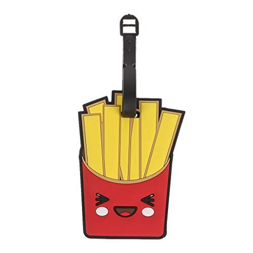 Cansenty - Etiqueta de viaje para equipaje con diseño de dibujos animados 02