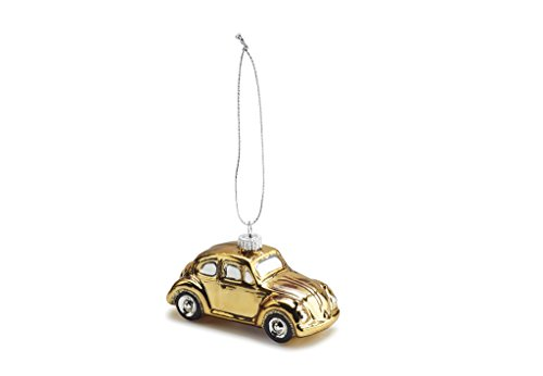 Produktbild Original VW Weihnachtsbaumanhänger Gold,  Käfer BeetleChristbaumschmuck,  Christbaumkugel Kollektion 2016