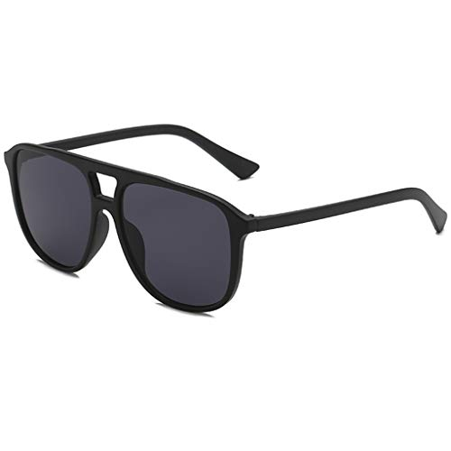 fazry Herren Damen Persönlichkeit Steampunk Sonnenbrille Retro Brille Brillen(A)
