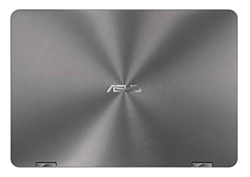 Asus Zenbook Flip UX461FA-E1059T Ultrabook 14' Gris (Intel Core i5, 8 Go de RAM, SSD 256 Go, Windows 10) Clavier Azerty Français