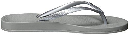 Ipanema Anatomica Tan Fem, Tongs Femme Mehrfarbig (grey/silver)