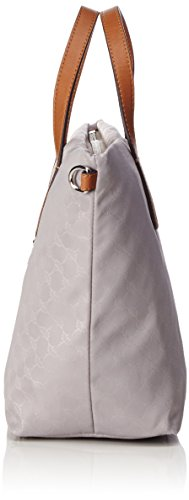 Joop! - Nylon Cornflower Helena Handbag Mhz, Borsa a mano Donna Grigio (Light Grey)