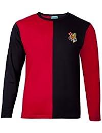 Harry Potter–T-Shirt Motif fondé sur le personnage Harry Potter, couleur rouge et noir