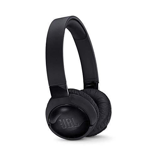 JBL Tune600BTNC in Schwarz - Noise-Cancelling On-Ear Bluetooth Kopfhörer mit integriertem Headset - Musikgenuss für 12 Stunden und mehr - Kabellos Musik streamen - Kopfhörer-sound-cancelling Jbl