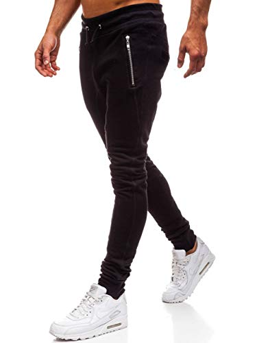 BOLF Herren Hose Sporthose Traininghose Fitness Sport Style 43S-S Schwarz M [6F6]