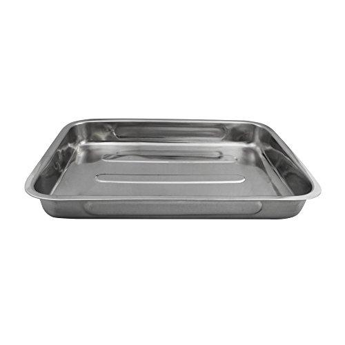 in acciaio inox 1101357 pan arrosto DL 40 cm Confezione da (Acciaio Inossidabile Rettangolare Pan)