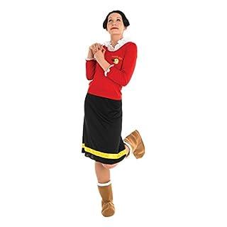 Rubie's Olivia-Kostüm für Damen aus Popeye
